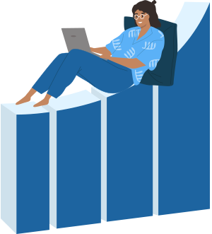 person-graph-laptop-illustration