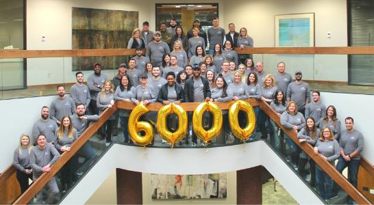6000 properties REI team
